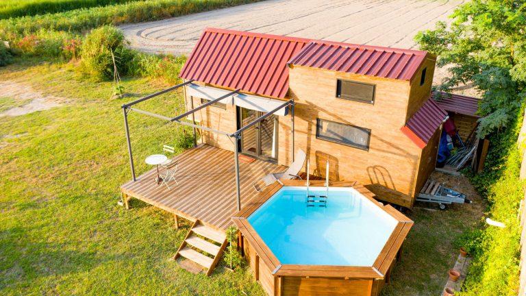 photo tiny house location airbnb